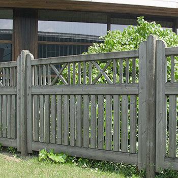 valla de jardn de madera vivaldi collstrop