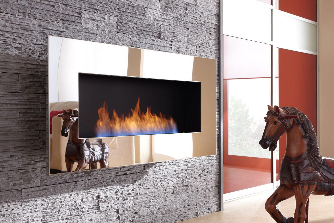 chimenea de bioetanol moderna hogar abierto de pared new york empire decoflame