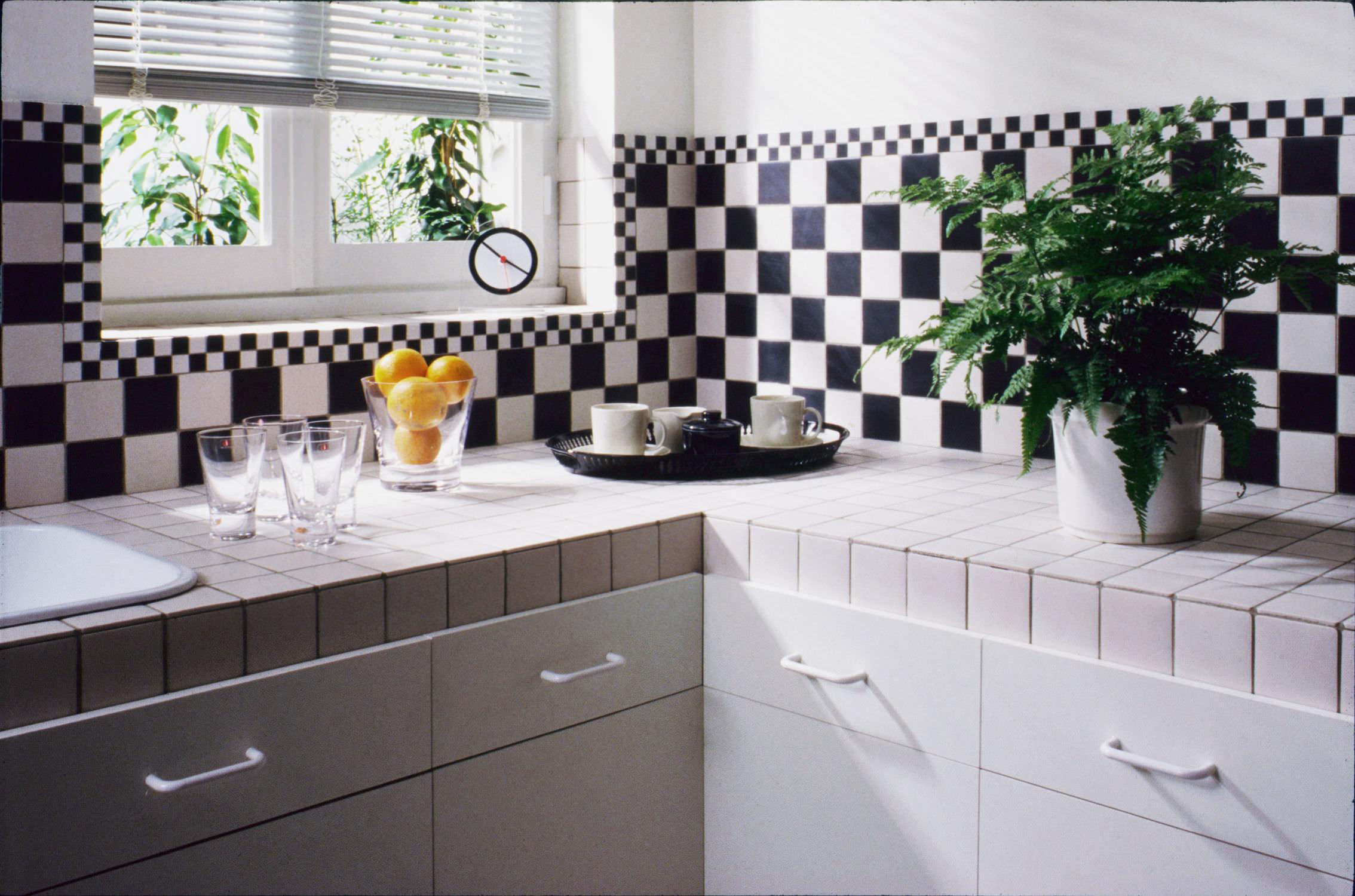 Mosaico de interior / para cocina / de suelo / de cerámica ...