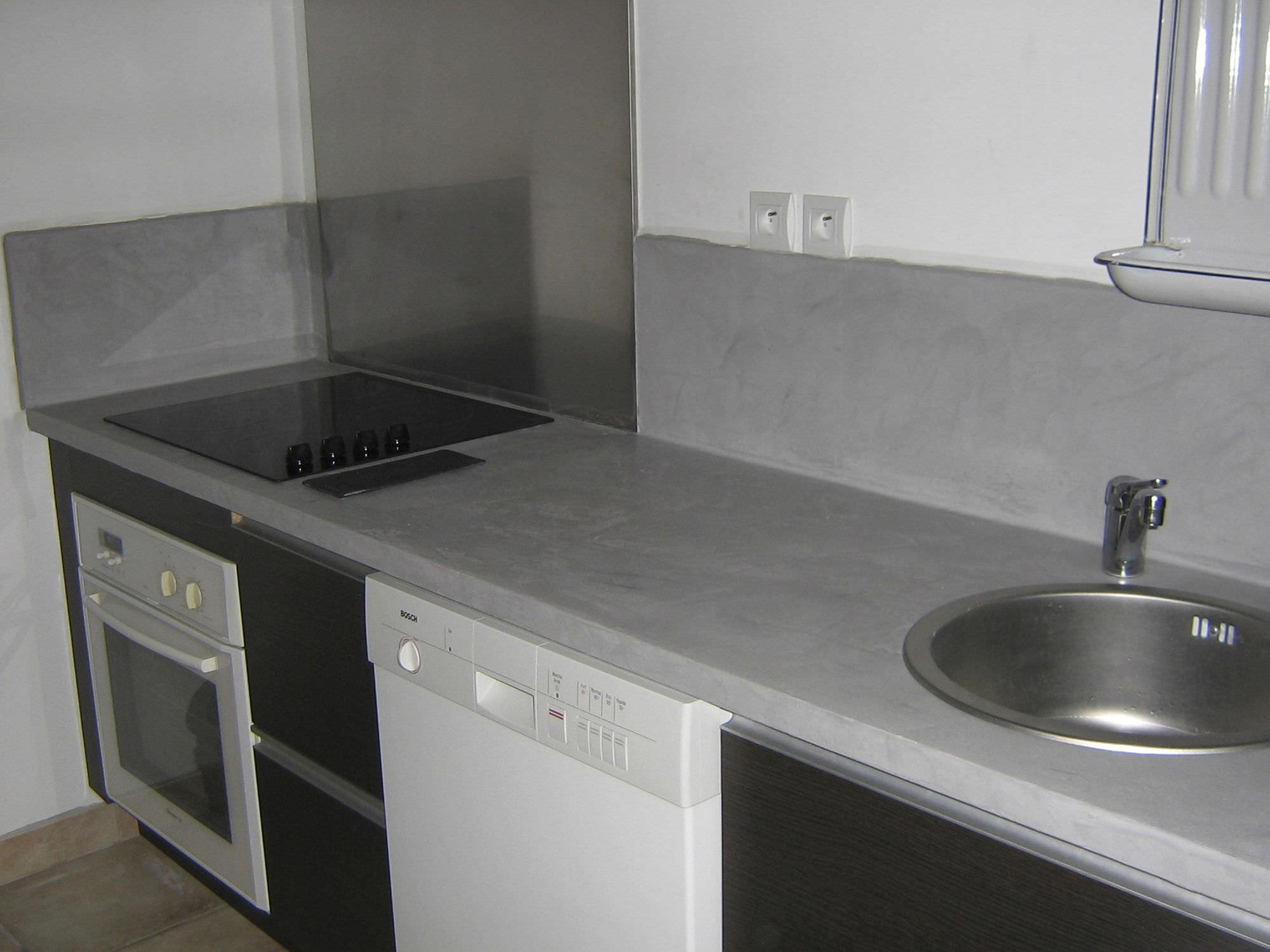Encimera de hormigón / para cocina - BC23 - ROUVIERE