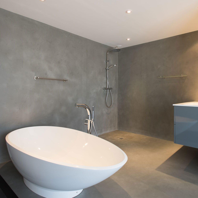enlucido decorativo de interior de suelo a base de cemento - Suelo Cemento Pulido
