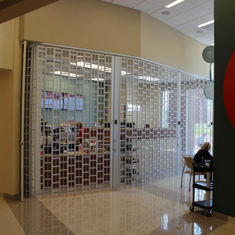 Reja de seguridad amovible / para escaparates - GLIDEGARD - Cornell