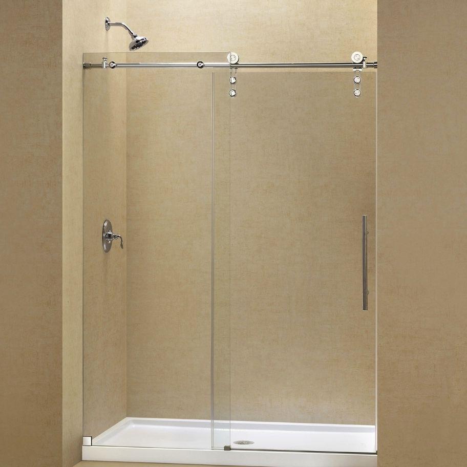 ducha cara de vidrio templado de kit para ducha empotrada con puerta corredera enigmaz