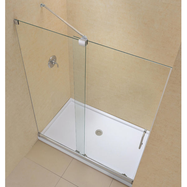 ducha cara de vidrio templado de kit para ducha empotrada con puerta corredera mirage with puertas correderas de cristal empotradas
