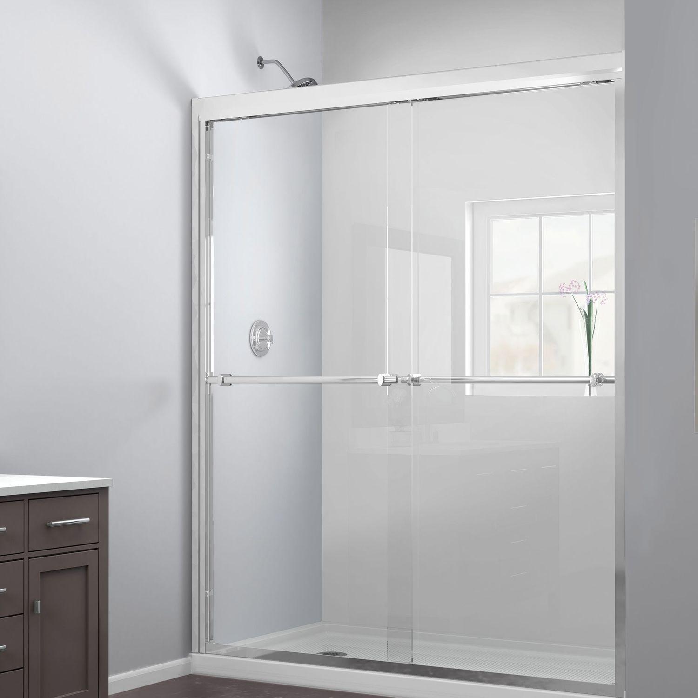 ducha cara de vidrio templado de kit para ducha empotrada con puerta corredera