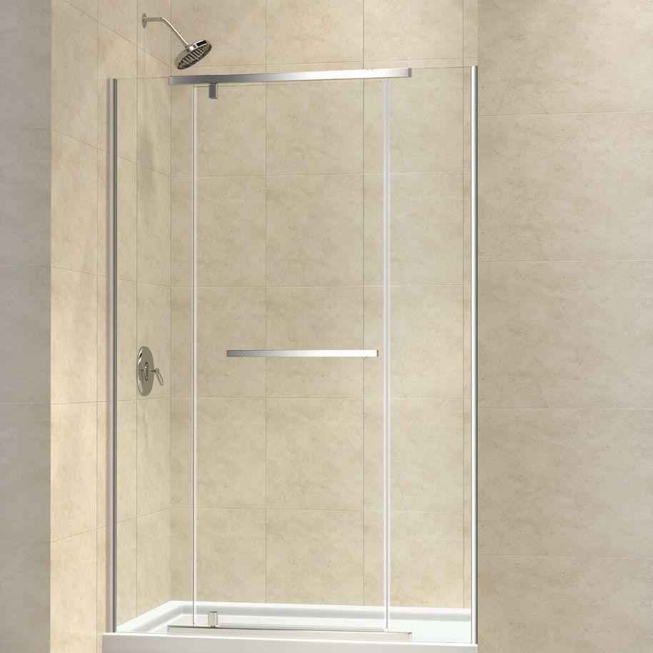 ducha cara de vidrio templado de kit para ducha empotrada con puerta batiente vitreox