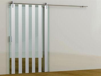 puerta de interior corredera de vidrio i cristal