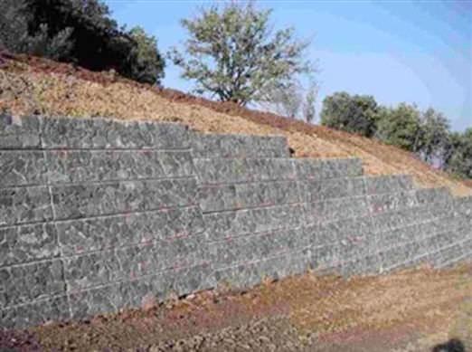 muro de contencin de hormign armado modular samer spa