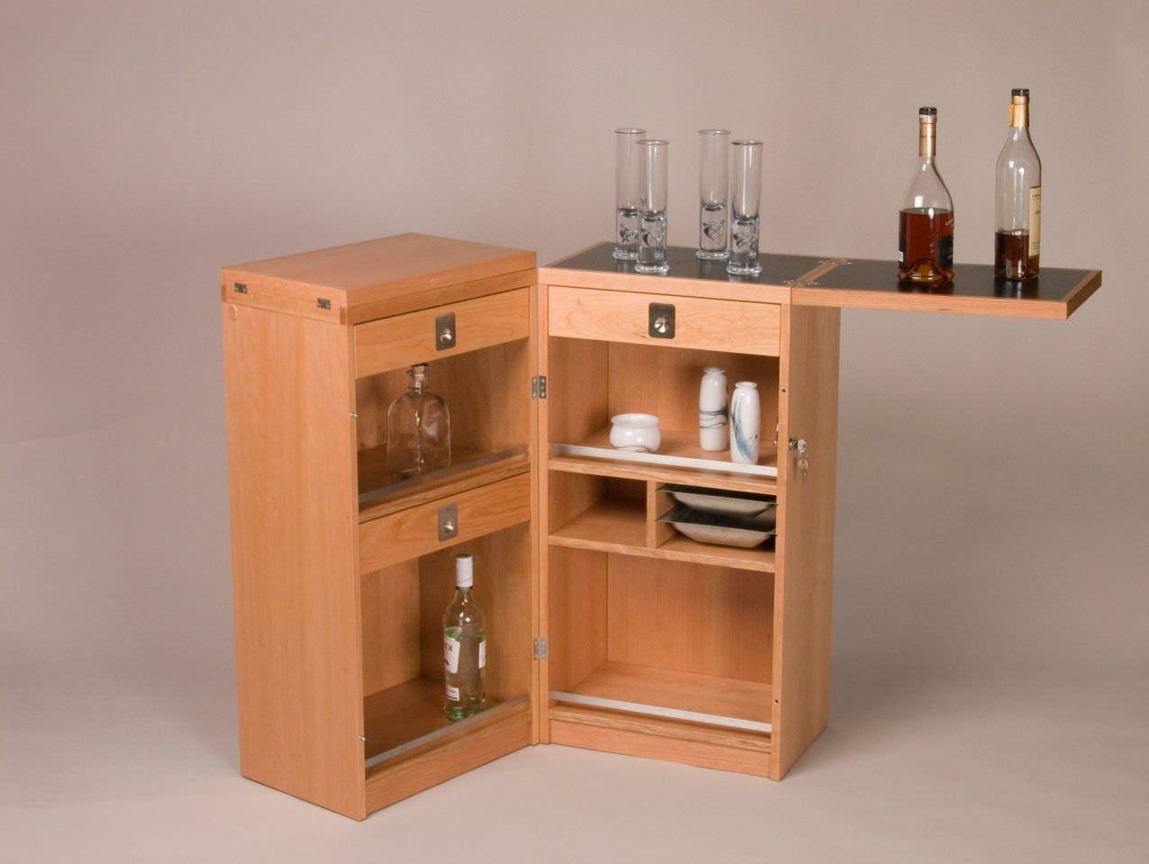 Mueble Bar Moderno De Madera 7712 Dyrlund # Muebles Sencillos De Madera