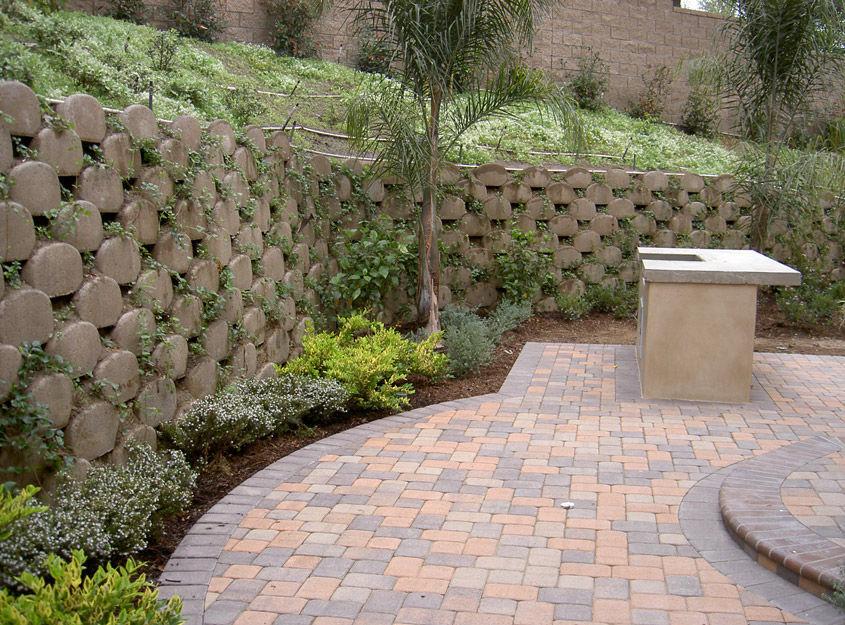 Muro De Contencion De Hormigon Para Valla De Jardin Garden Walls - Muros-jardin