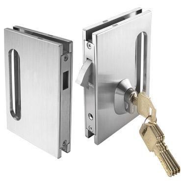 cerradura mecnica para puerta de cristal ossplsdl u ossplsdlg