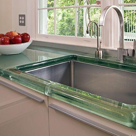 Encimeras De Cristal Para Cocinas | Encimera De Vidrio Para Cocina Thickglass Aag Glass