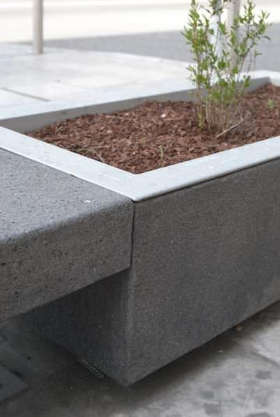 jardinera de hormign rectangular moderna para espacio pblico p citizen by eduardo mota - Jardineras De Hormigon