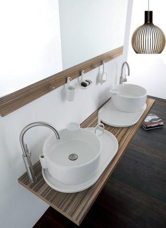 Encimera de lavabo de madera - UKIYO-E - Olympia