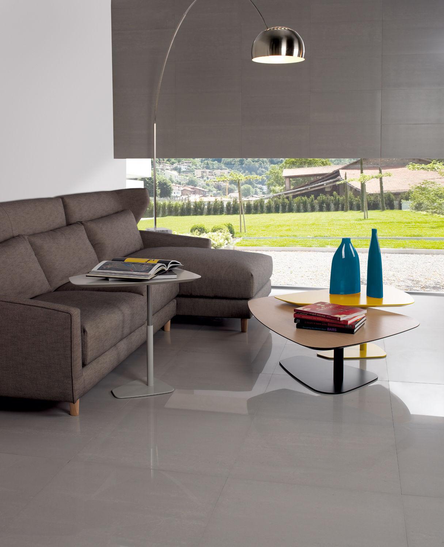 Baldosa de interior / para salón / para suelo / de gres porcelánico ...