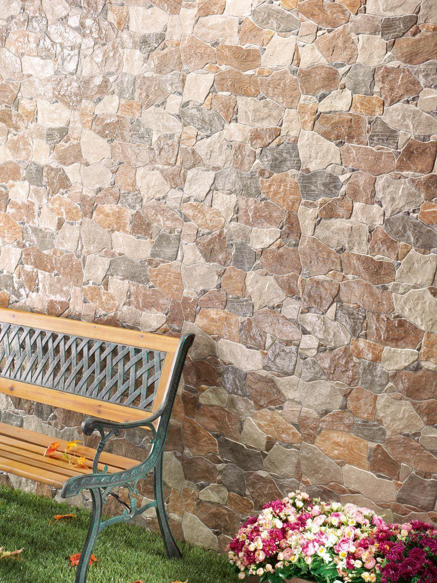 Baldosa de exterior / de pared / de cerámica / brillante - NALÓN ...