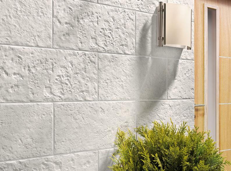 revestimiento de pared de gres porcelnico para uso residencial texturado aspecto piedra zamora - Revestimiento De Paredes Exteriores