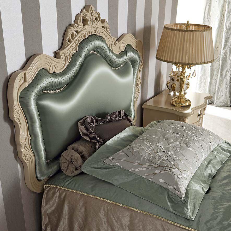 Cabecero para cama sencilla / de estilo / de tejido / tapizado ...
