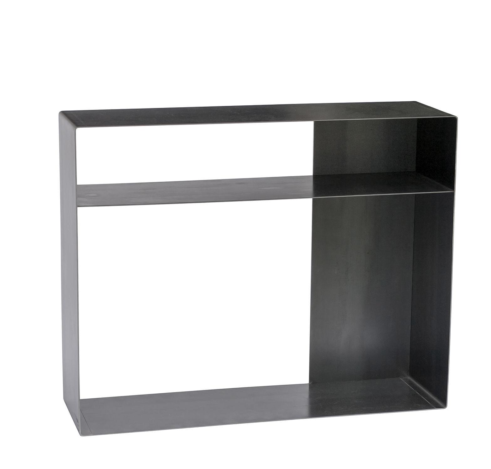 Mueble De Televisi N De Dise O Industrial De Acero Quattro 2  # Mueble Tv Industrial Negro