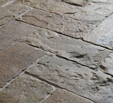 Baldosa Para Suelo De Piedra Natural Con Relieve Rstica Antique English  Herringbone