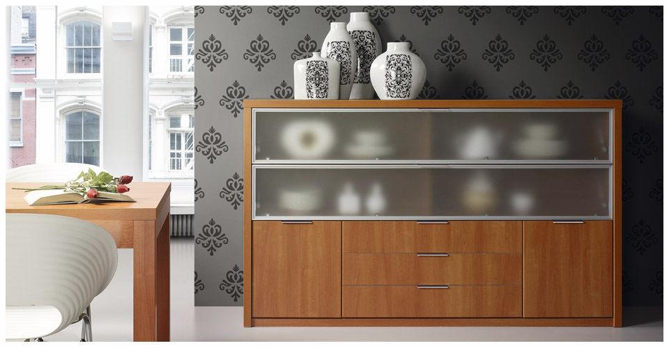 Aparador moderno / de madera - LYDIA : 1937 - Baixmoduls