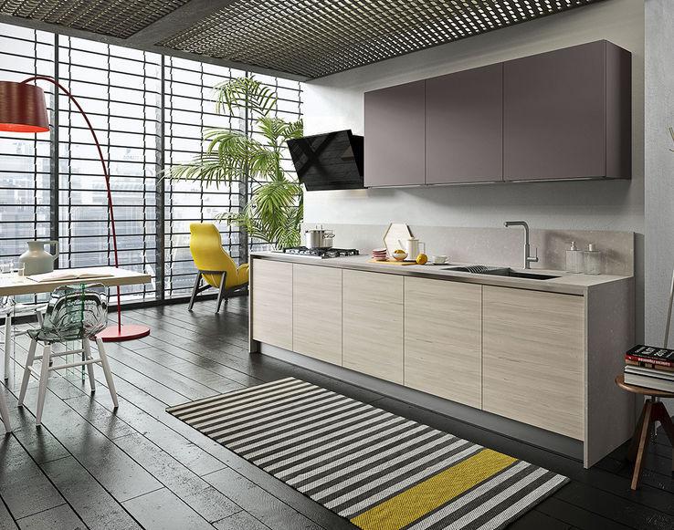Cocina moderna / de madera - NAVARRA: NEW-YORK - Ar-Tre