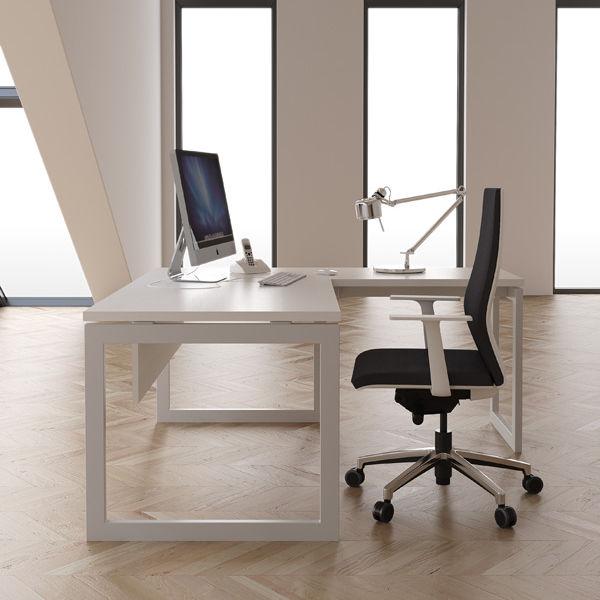 Sillón de oficina moderno / de tejido / giratorio / con ruedas ...