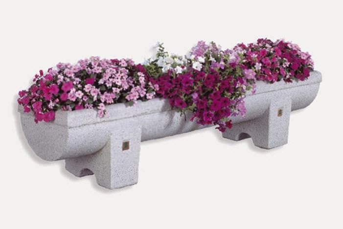 jardinera de mrmol de piedra natural rectangular moderna menhir bellitalia