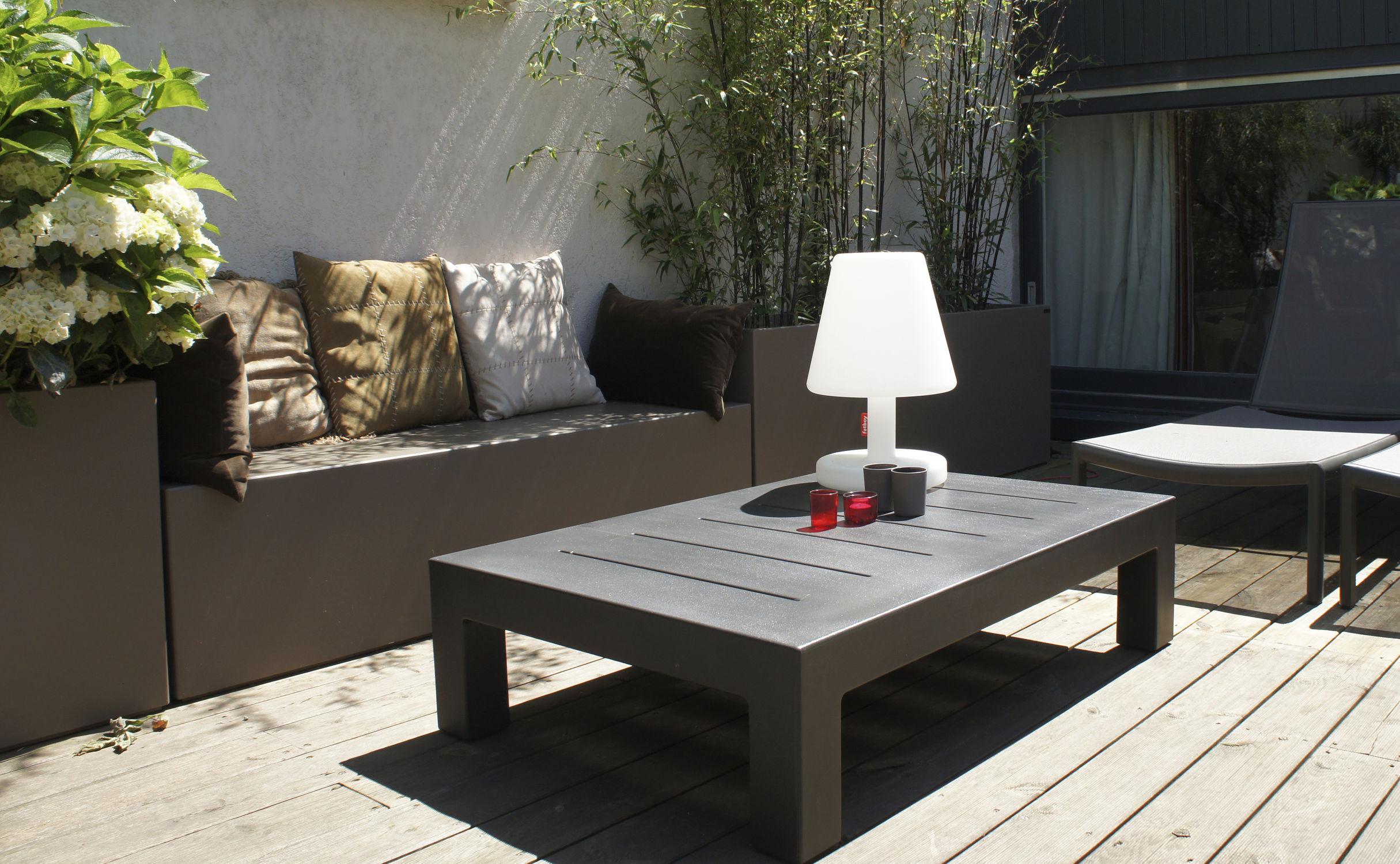 jardinera de rectangular moderna para espacio pblico icchirmh