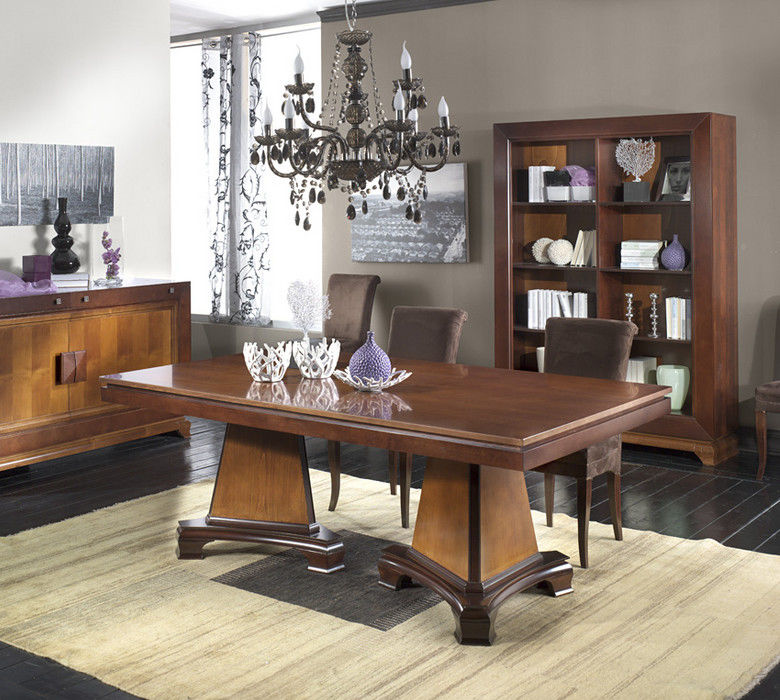 Mesa de comedor clsica de madera rectangular IL CONTEMPORANEO