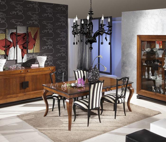 Mesa de comedor de estilo / de madera / rectangular - IL ...