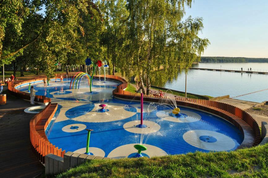 juego de agua para parque infantil vortex