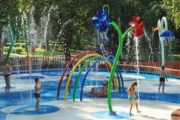 juego de agua para parque infantil vortex pro urba
