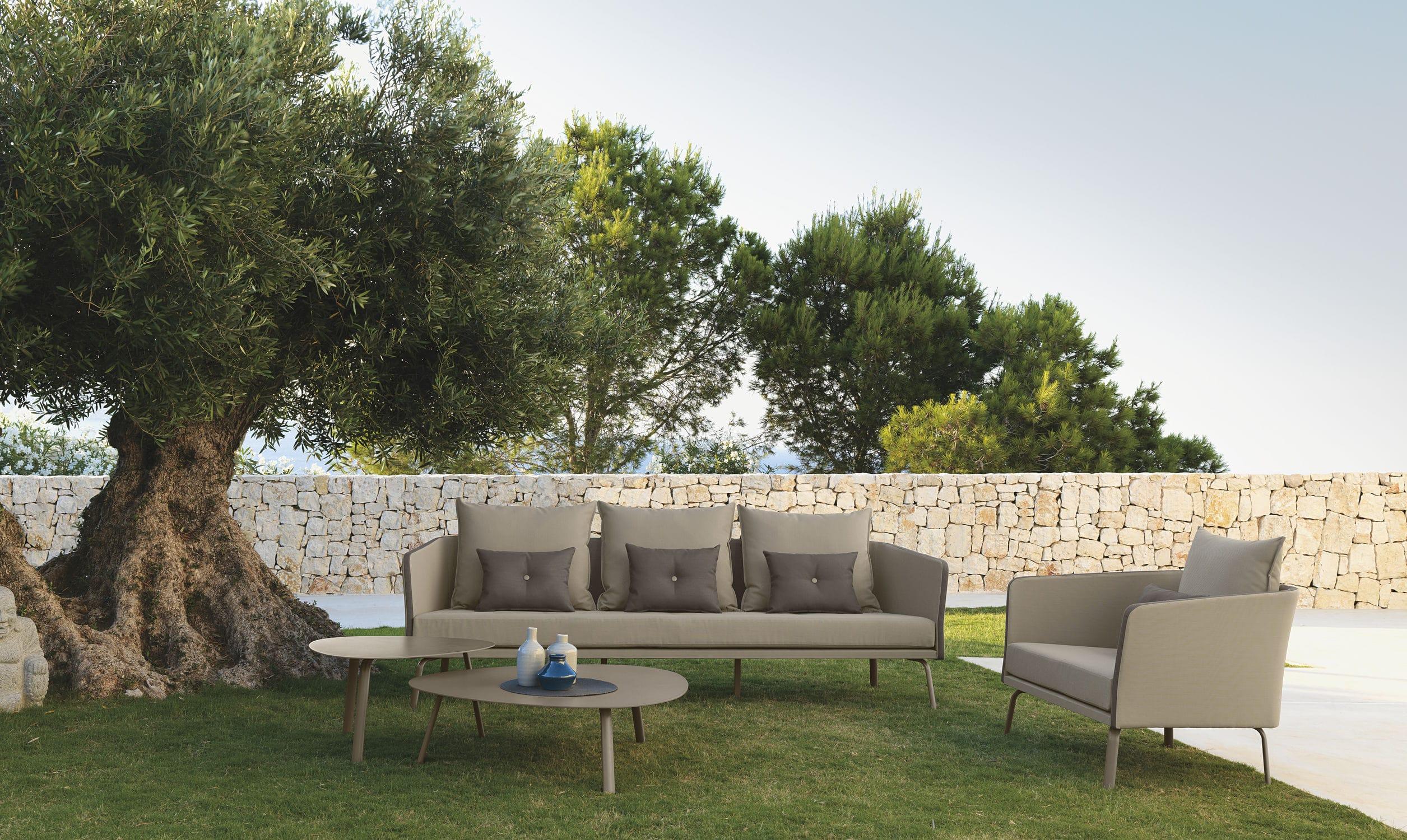 Sofá modular / moderno / de jardín / de Textilene® - MILO by Marco ...