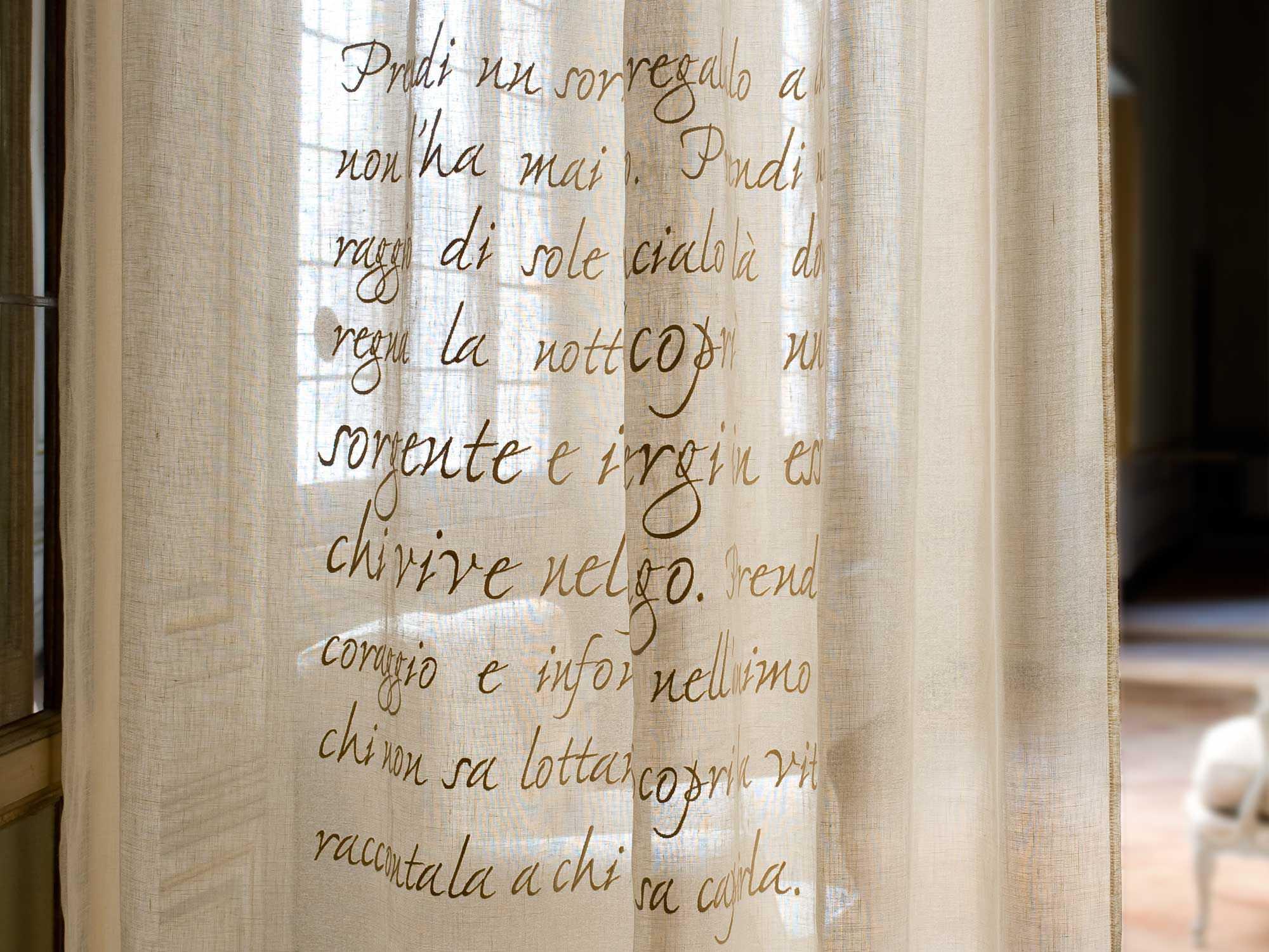 tela para cortinas con motivos de lino gandhi