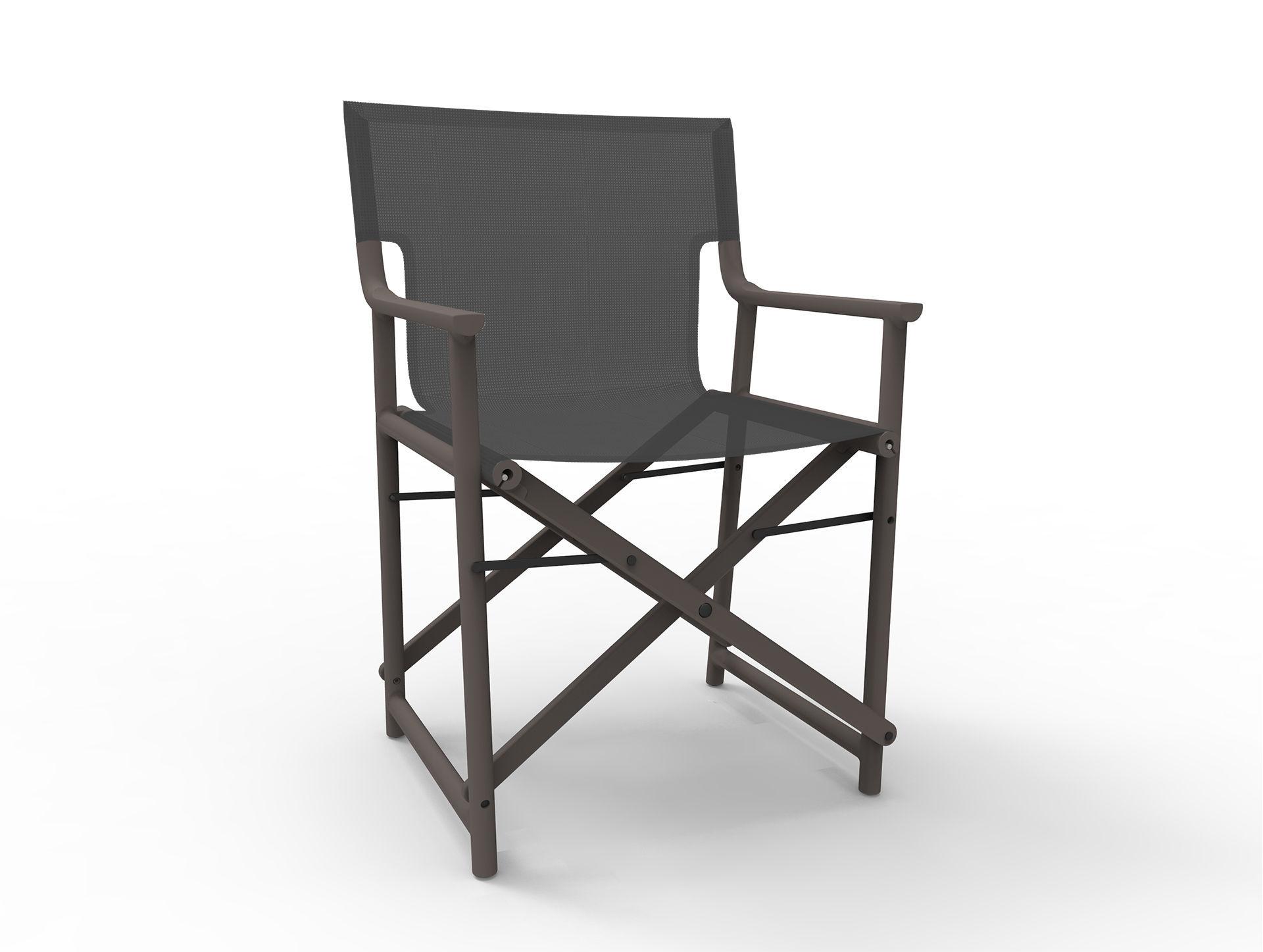 Silla moderna plegable de director de cine de pl stico
