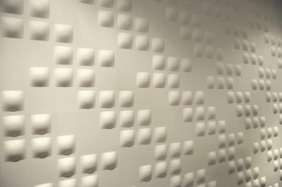 panel decorativo de bamb para falso techo de pared pixels dwalldecor