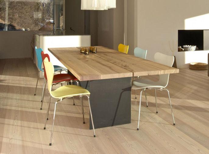 Mesa de comedor / moderna / de madera / de exterior   tix   mobimex