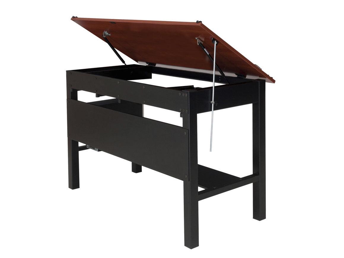mesa de dibujo moderna de madera de material laminado rectangular vision versa products