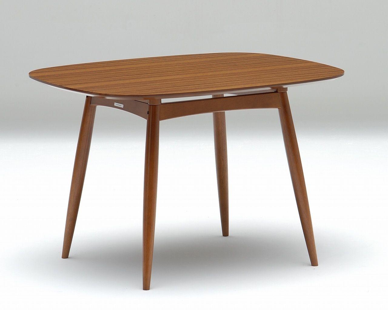 Mesa de comedor clásica / de roble / rectangular / ajustable en ...