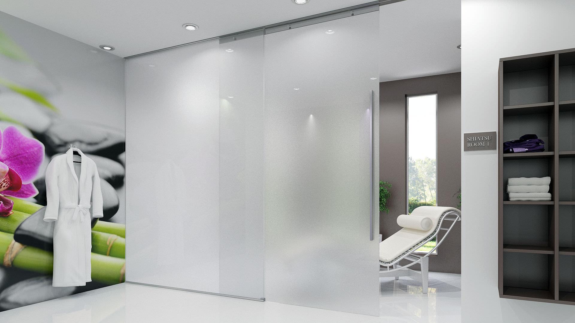 Sistema Corredizo Oculto Puerta Corredera De Cristal Inside Dv  ~ Puerta Corredera Cristal Precio