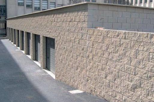 bloque de hormign hueco para muro de carga de alta eficacia superficial betobat splite - Bloques De Hormign