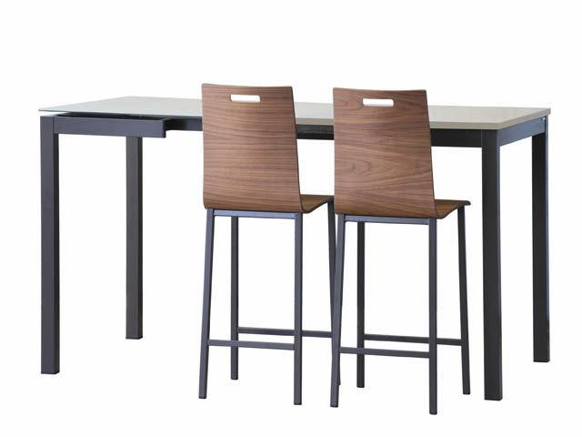 simple amazing interesting silla de bar moderna de moldeado koko mobliberica with mesa alta cocina ikea with sillas altas para cocina with mesa alta y - Mesas Altas Ikea
