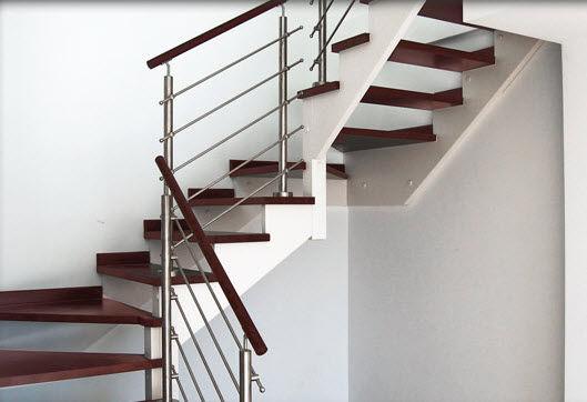 Pasamanos Escaleras Acero Inoxidable. . Barandas Y Pasamanos ...