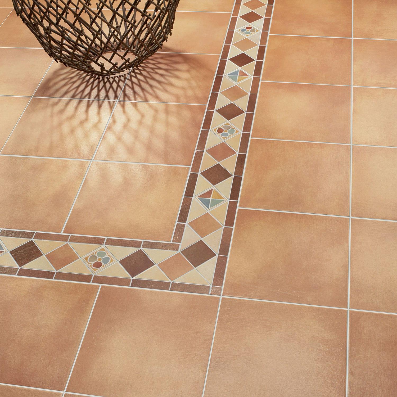 Baldosa de interior / de suelo / de gres porcelánico / de color liso ...