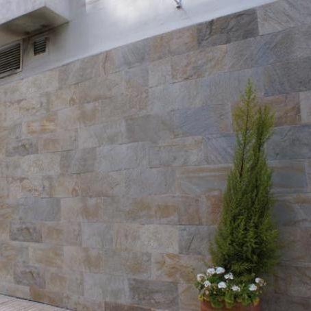 Revestimiento De Fachada De Piedra Natural / Mate / En Placas   CUARCITA