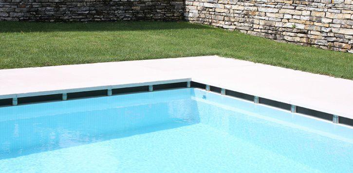 baldosa para playa de piscina de suelo de piedra natural de rayas