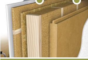aislante trmico de fibra de madera para techo de pared holzflex standard