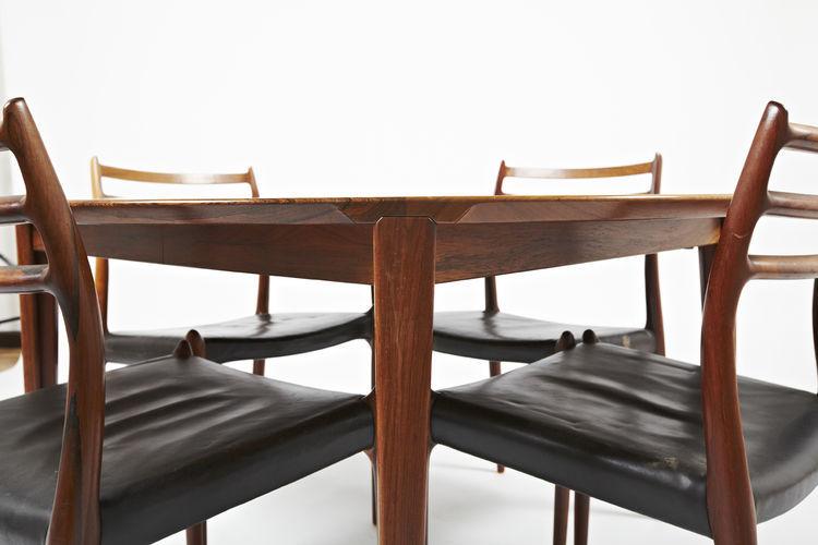 mesa de comedor de diseo escandinavo de madera redonda ovalada