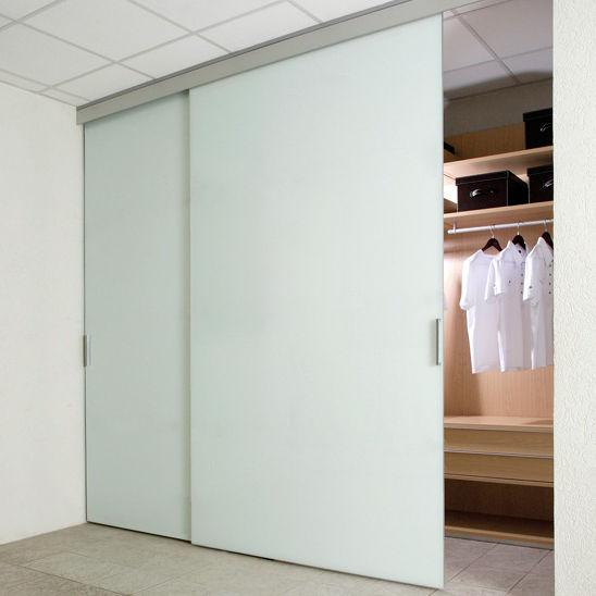 puerta de interior para armario corredera de vidrio duplo sv